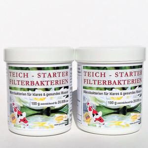 Teich-Starter-Filterbakterien 200g für 40.000 Liter...