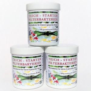 Teich-Starter-Filterbakterien 300g für 60.000 Liter...