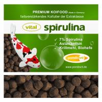 VITAL - SPIRULINA Premium Koifutter 3 kg / 6 mm