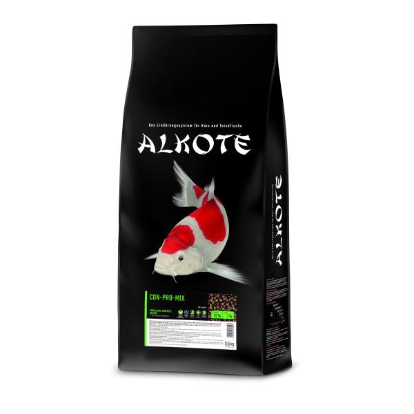 Premium Koifutter 13,5 kg / 6 mm  ALKOTE - Conpro-Mix für die ganze Saison - ab 8°C Koi Teich