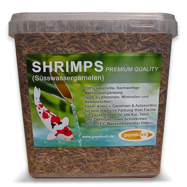 Shrimps (Süßwassergarnelen) 5000 ml